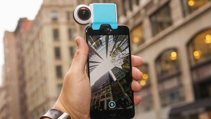 Giroptic iO Is A New 360 Degree Camera That Has Debuted