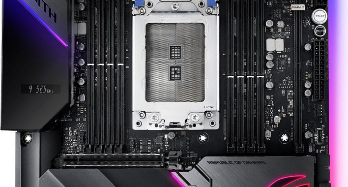 ASUS Introduces TRX40 Series Motherboards